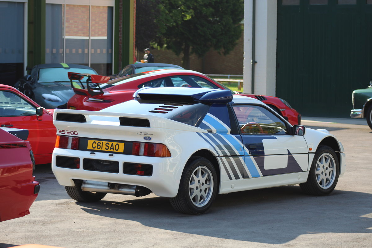 1993 Ford RS200 Group B Car - Road For Sale (picture 2 of 6)