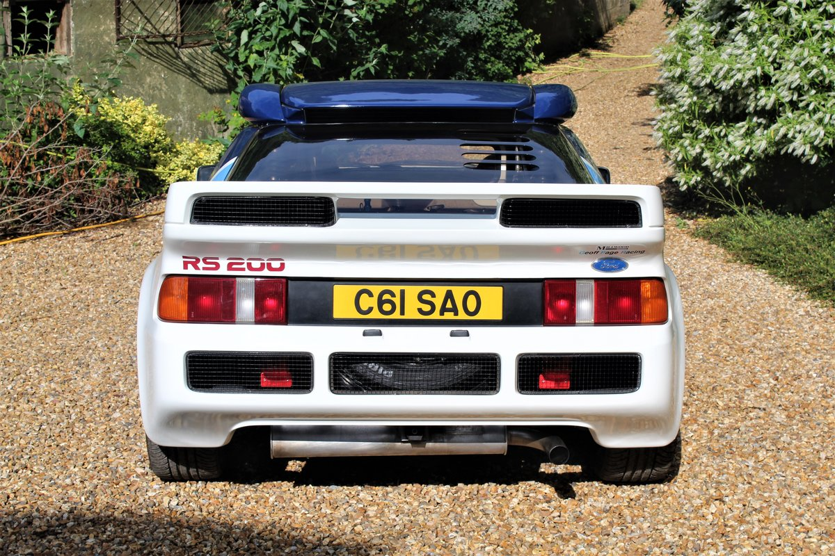 1993 Ford RS200 Group B Car - Road For Sale (picture 6 of 6)