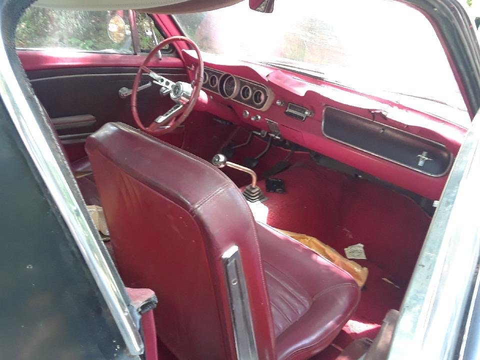 1965 Mustang Fastback project V8 manual transmission  For Sale (picture 10 of 10)