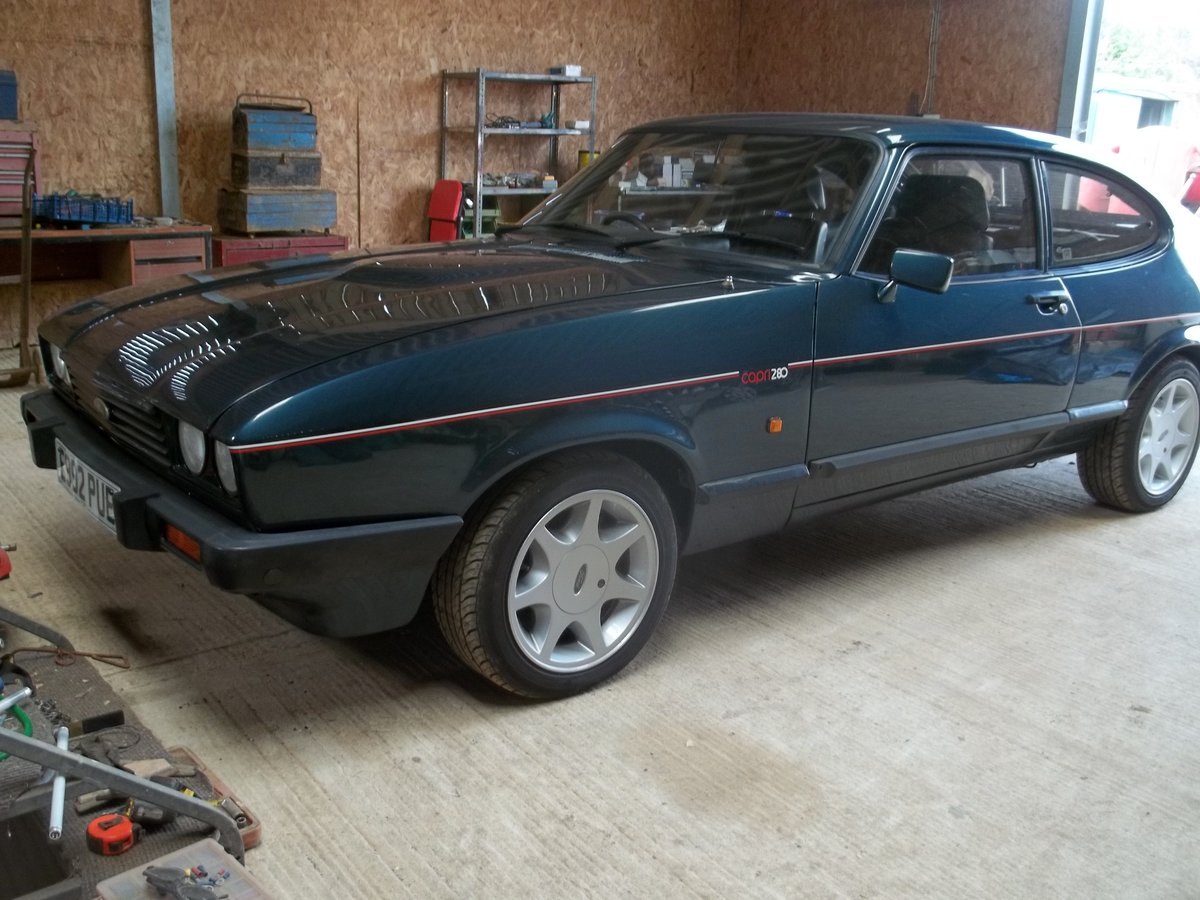 1987 Ford Capri Brooklands For Sale (picture 1 of 6)