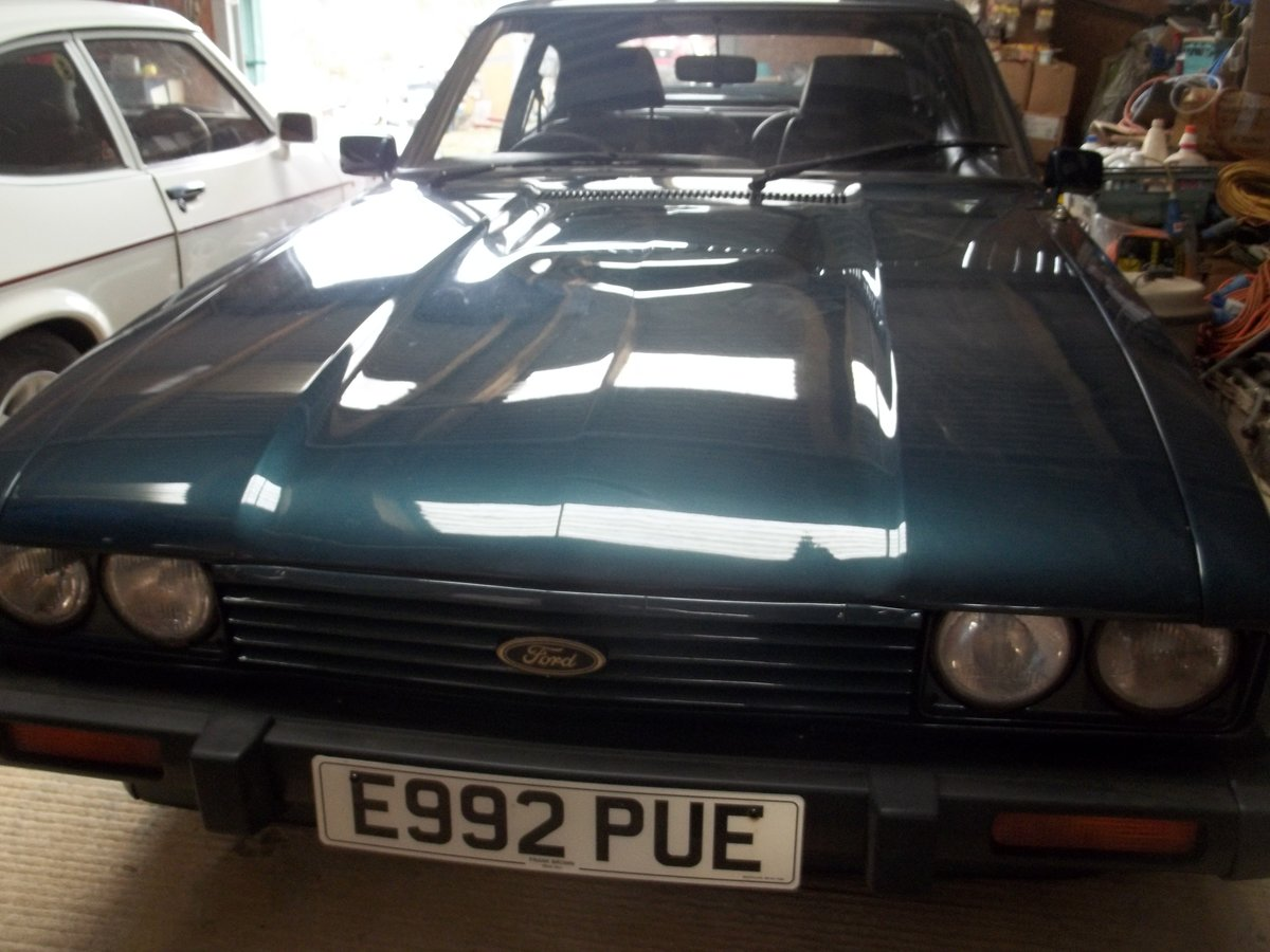 1987 Ford Capri Brooklands For Sale (picture 5 of 6)
