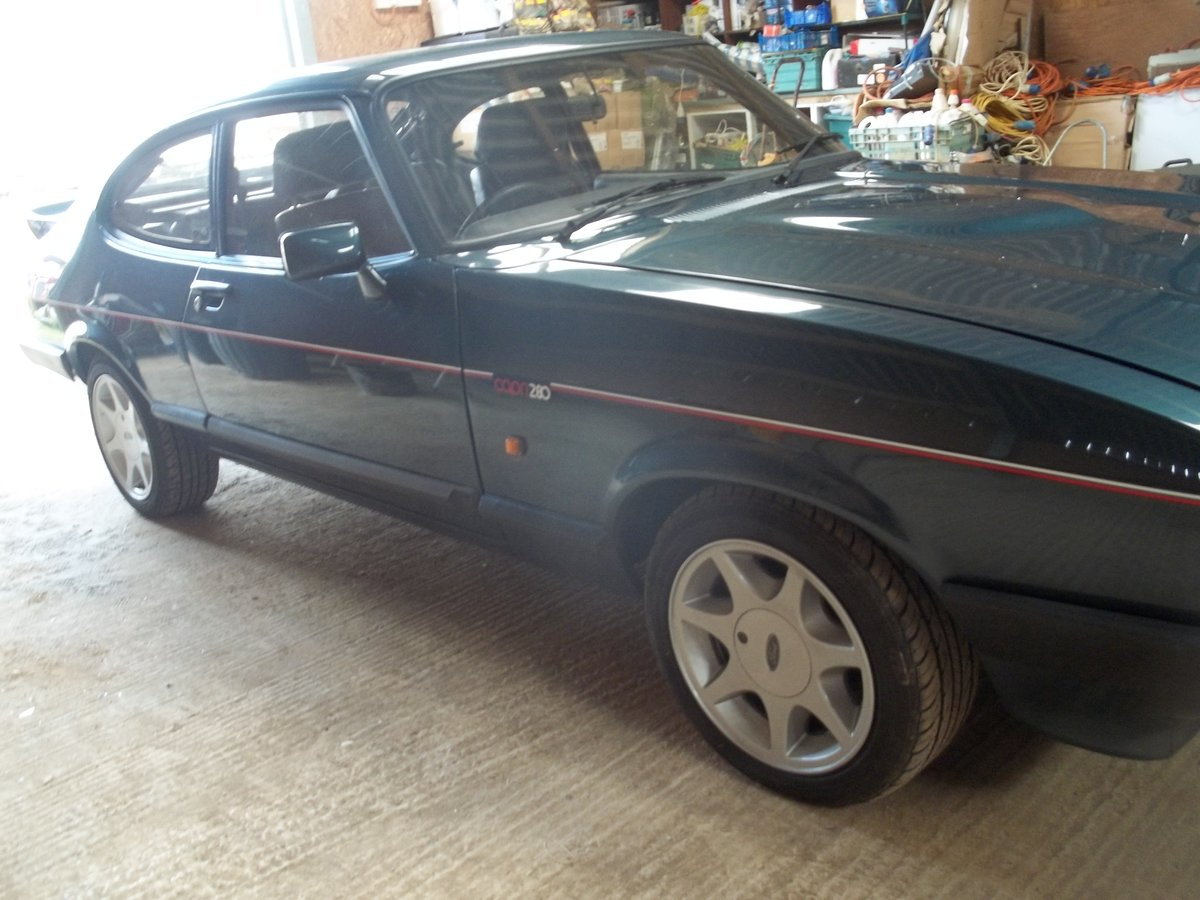 1987 Ford Capri Brooklands For Sale (picture 6 of 6)