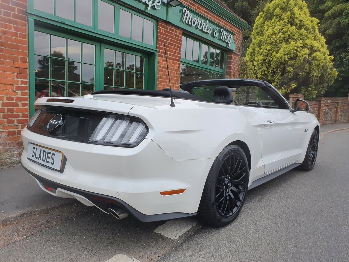 2017 Ford Mustang GT Convertible  SOLD (picture 3 of 6)