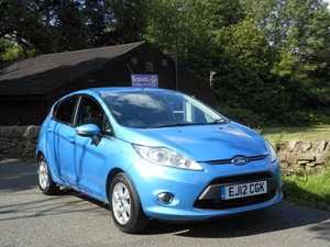2012 Ford Fiesta 1.6 TDCI TITANIUM ECONETIC 11 + £0 TAX SOLD