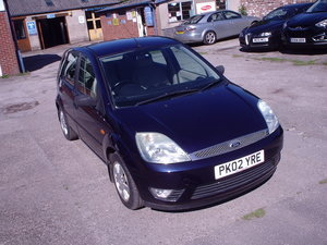2002 FORD FIESTA 1.6 GHIA LOW MILEAGE