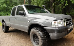 2003  53 Ford Ranger Supercab One Off Extended Chassis