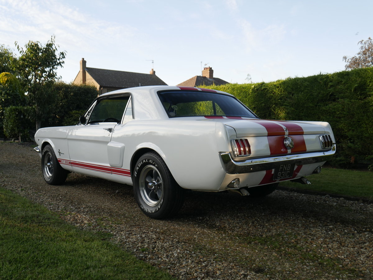 "1965 Ford Mustang 289 ""C"" Code V8 Shelby GT 350  For Sale (picture 4 of 6)"