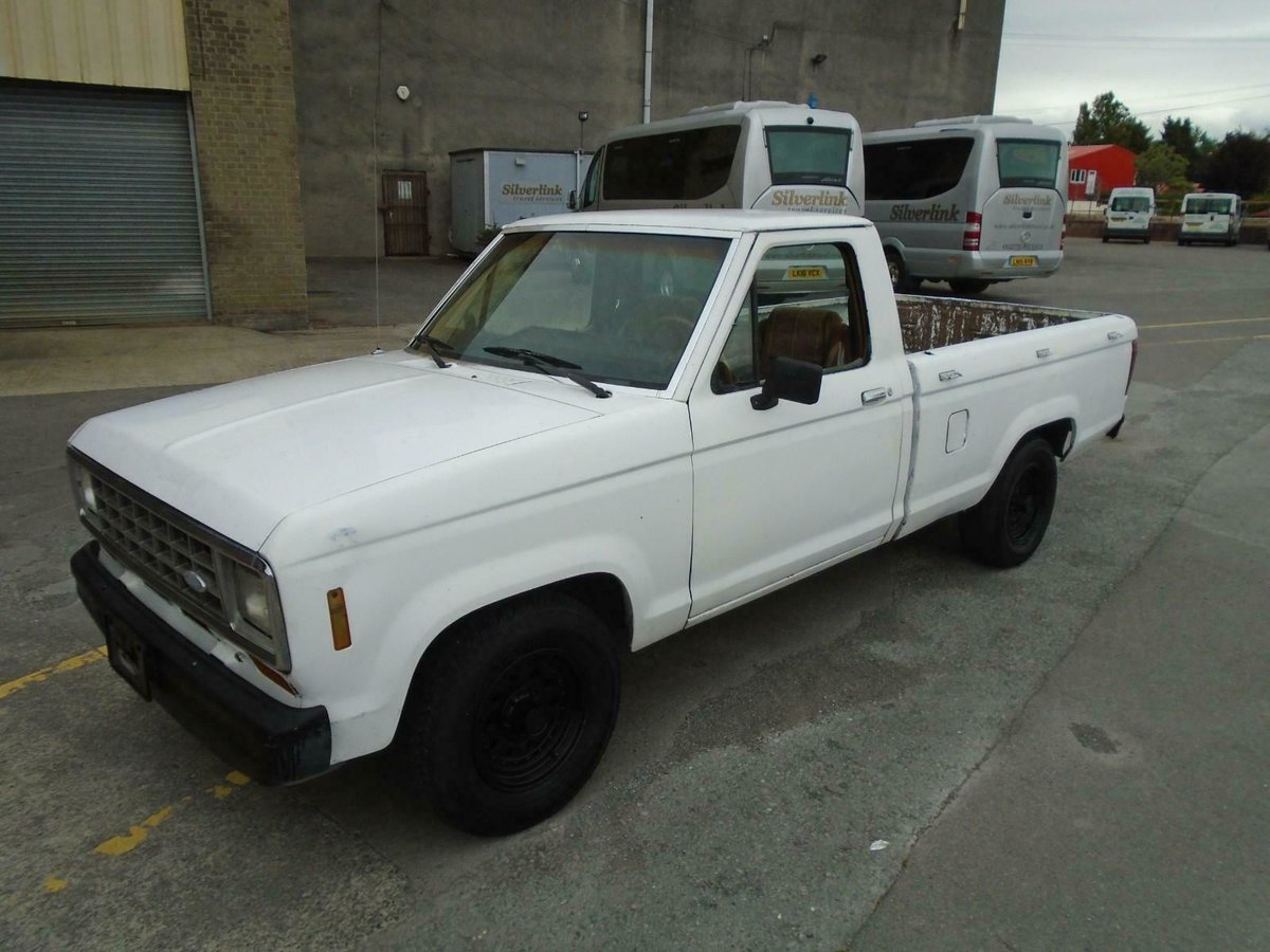 1986 FORD RANGER 2.9 V6 MANUAL LHD PICKUP DRIVES! SOLID RUST FREE For Sale (picture 1 of 6)