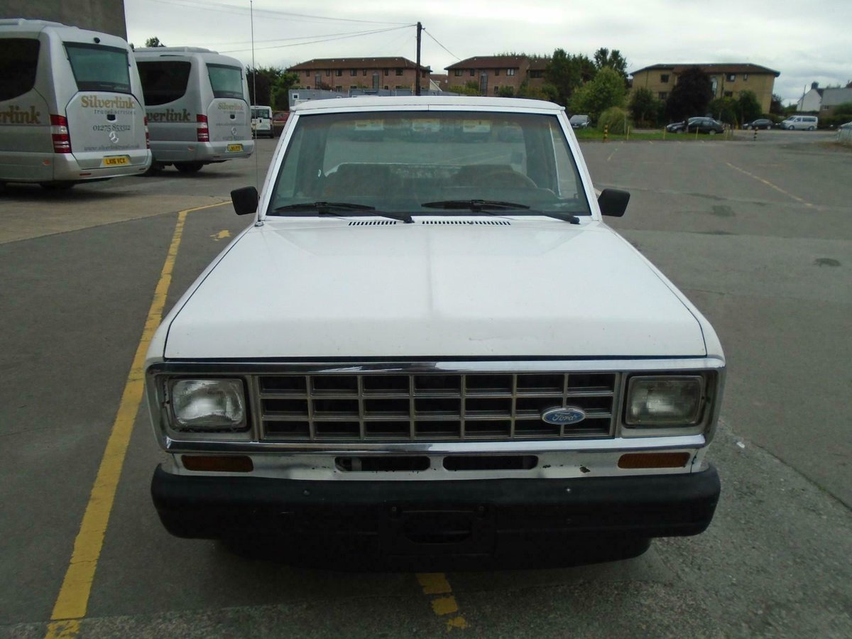 1986 FORD RANGER 2.9 V6 MANUAL LHD PICKUP DRIVES! SOLID RUST FREE For Sale (picture 2 of 6)