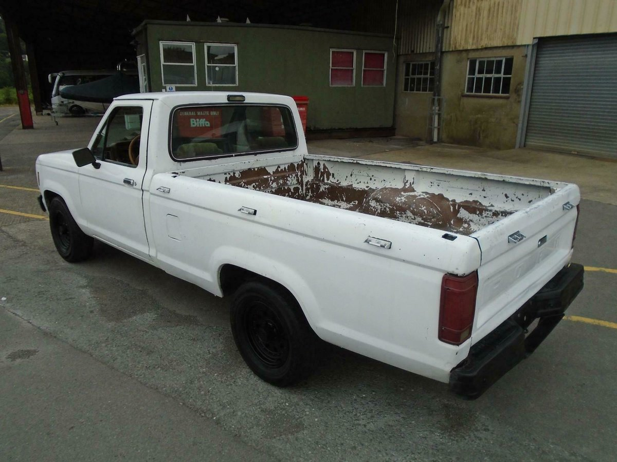 1986 FORD RANGER 2.9 V6 MANUAL LHD PICKUP DRIVES! SOLID RUST FREE For Sale (picture 3 of 6)