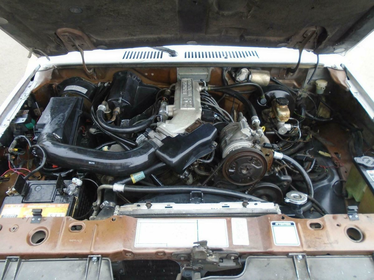 1986 FORD RANGER 2.9 V6 MANUAL LHD PICKUP DRIVES! SOLID RUST FREE For Sale (picture 4 of 6)