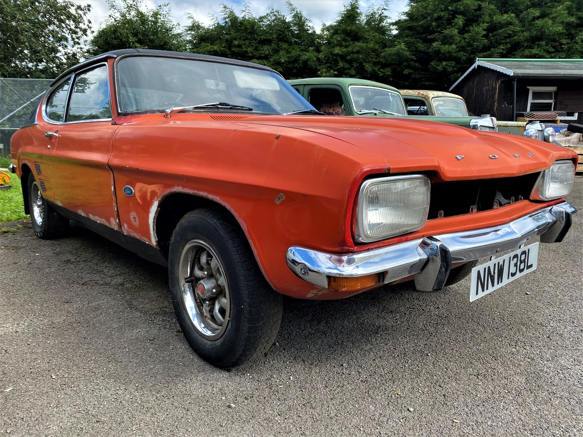 1973 FORD CAPRI FOR RESTORATION For Sale (picture 1 of 6)