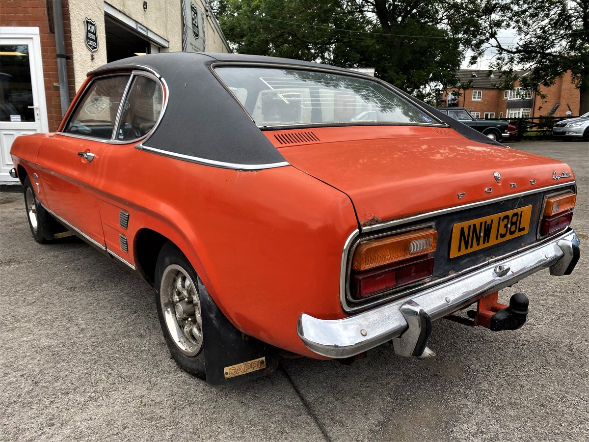 1973 FORD CAPRI FOR RESTORATION For Sale (picture 2 of 6)