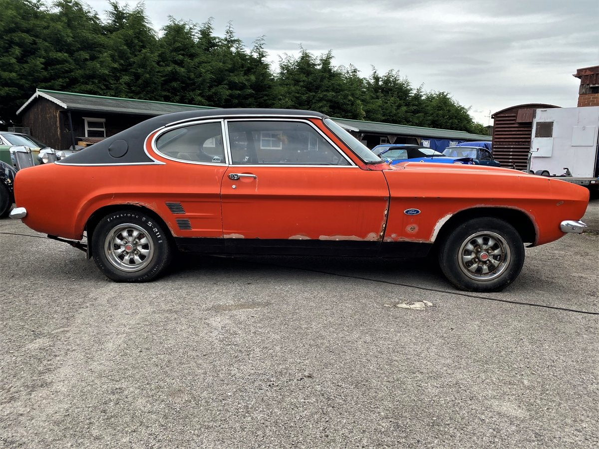 1973 FORD CAPRI FOR RESTORATION For Sale (picture 3 of 6)