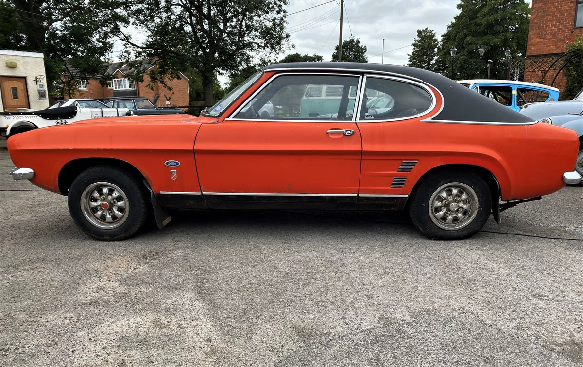 1973 FORD CAPRI FOR RESTORATION For Sale (picture 4 of 6)