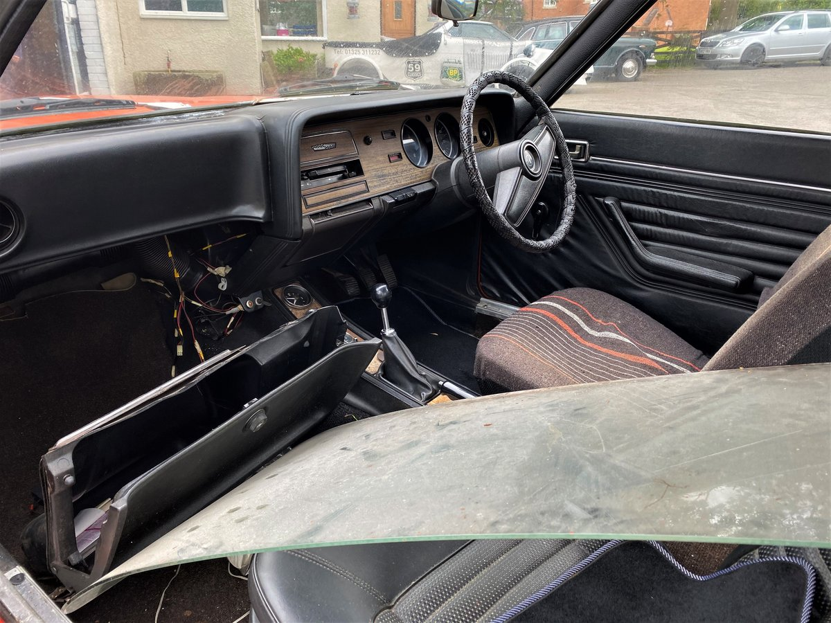 1973 FORD CAPRI FOR RESTORATION For Sale (picture 5 of 6)