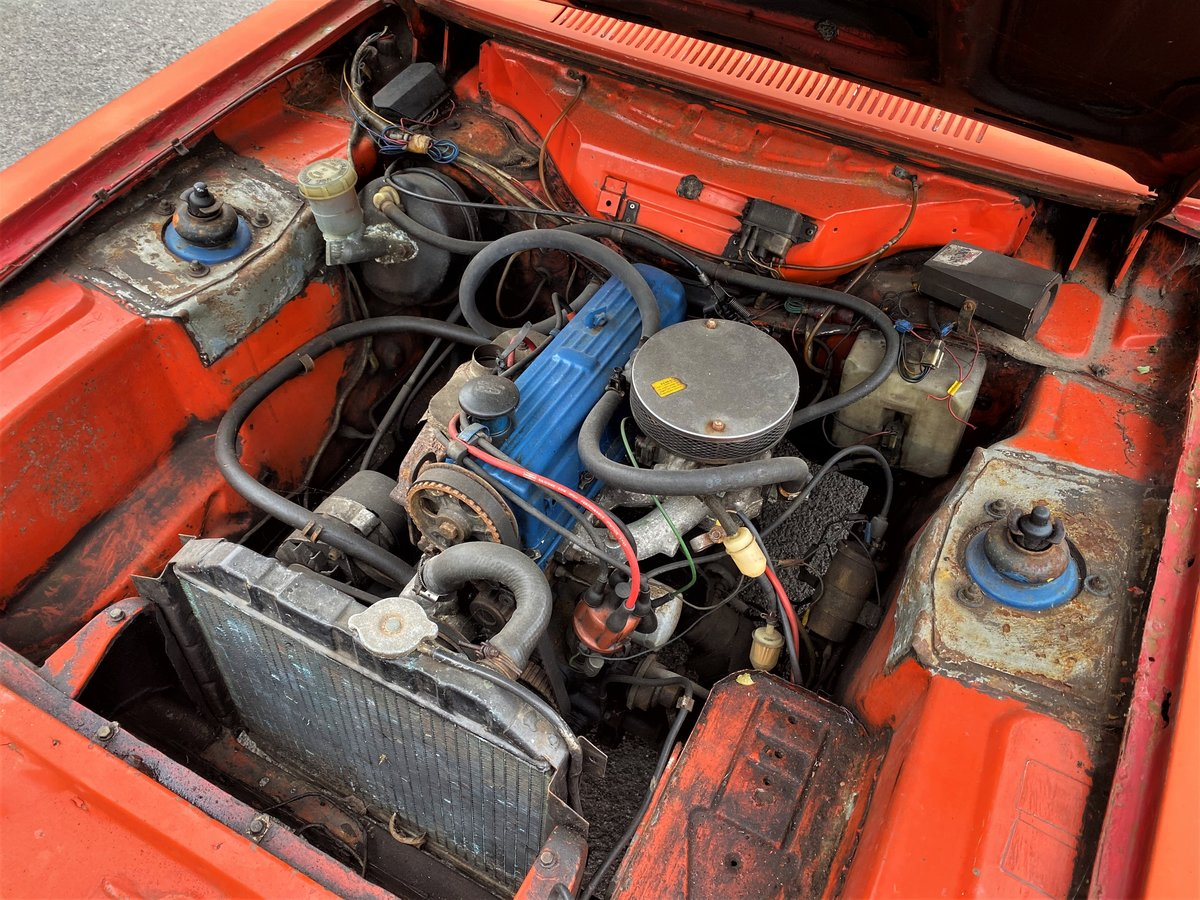 1973 FORD CAPRI FOR RESTORATION For Sale (picture 6 of 6)
