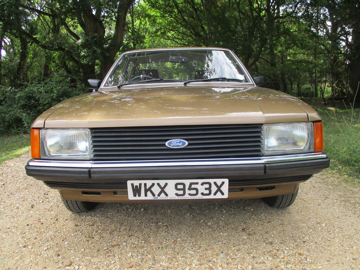1981 Ford Granada ONLY 1 FORMER KEEPER For Sale (picture 2 of 6)