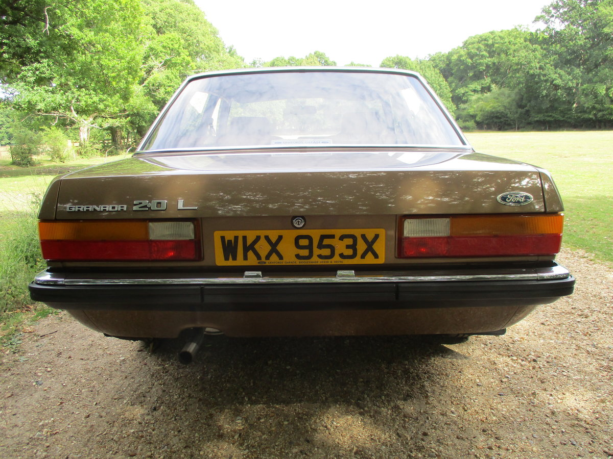1981 Ford Granada ONLY 1 FORMER KEEPER For Sale (picture 3 of 6)