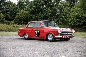 'KPU392C' Lotus Cortina - 1965 European Winning Car.