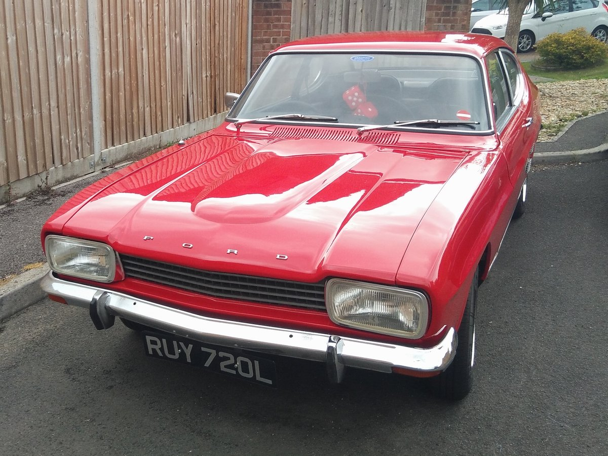 1972 Mk1 Ford Capri 1600 XL 1973  For Sale (picture 1 of 6)