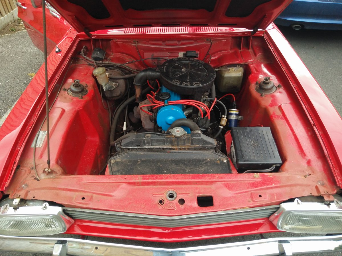1972 Mk1 Ford Capri 1600 XL 1973  For Sale (picture 6 of 6)