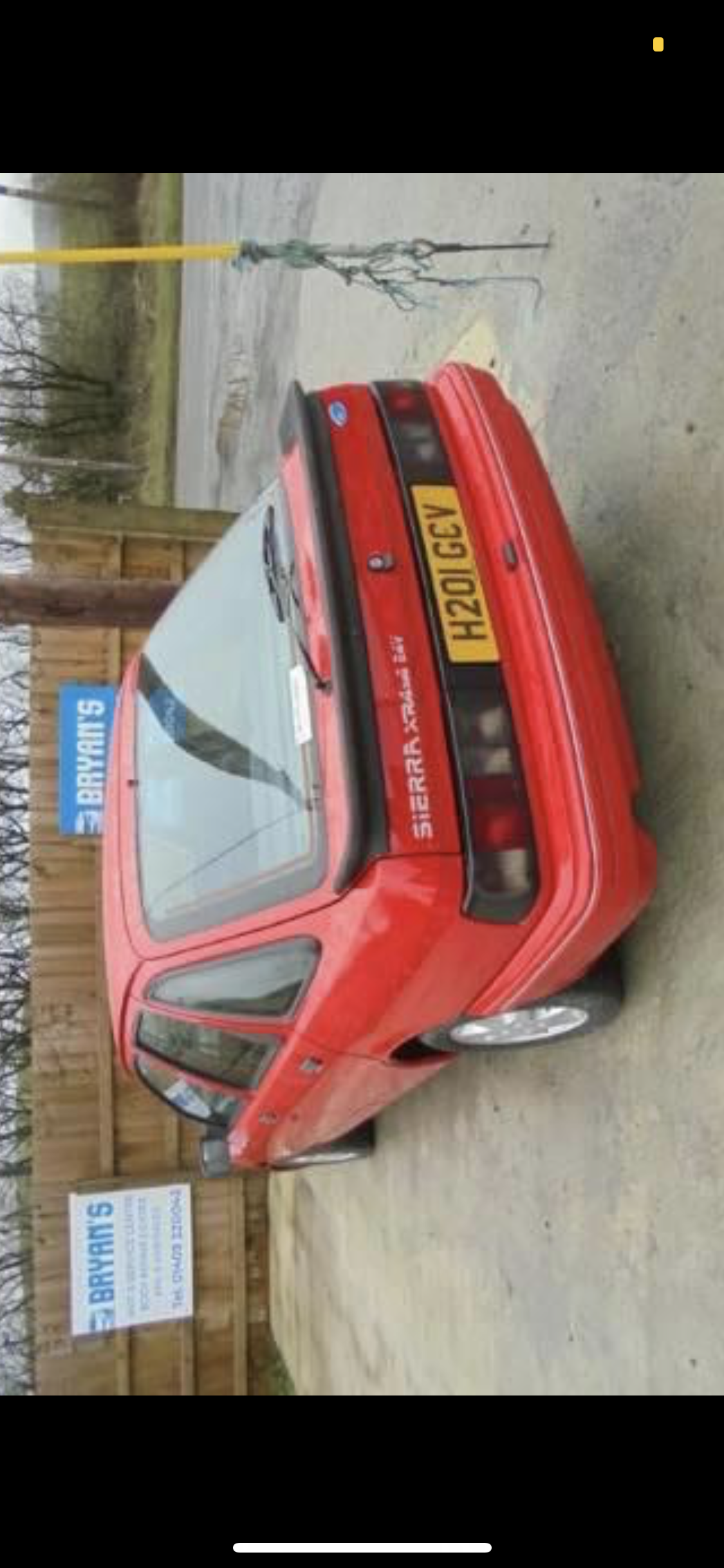 1990 Ford Sierra xr4x4 For Sale (picture 2 of 5)