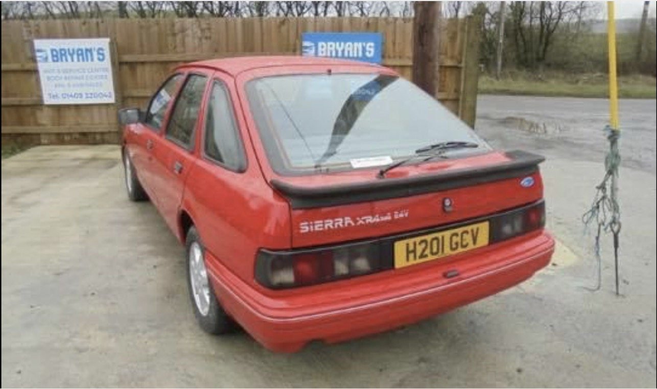 1990 Ford Sierra xr4x4 For Sale (picture 1 of 5)