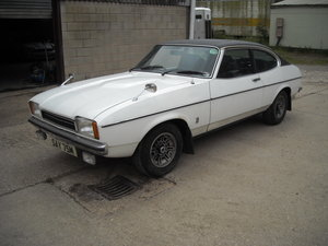1974 Ford capri MK2 3 LITRE GHIA AUTO ONE FAMILY OWNER FROM NEW SOLD