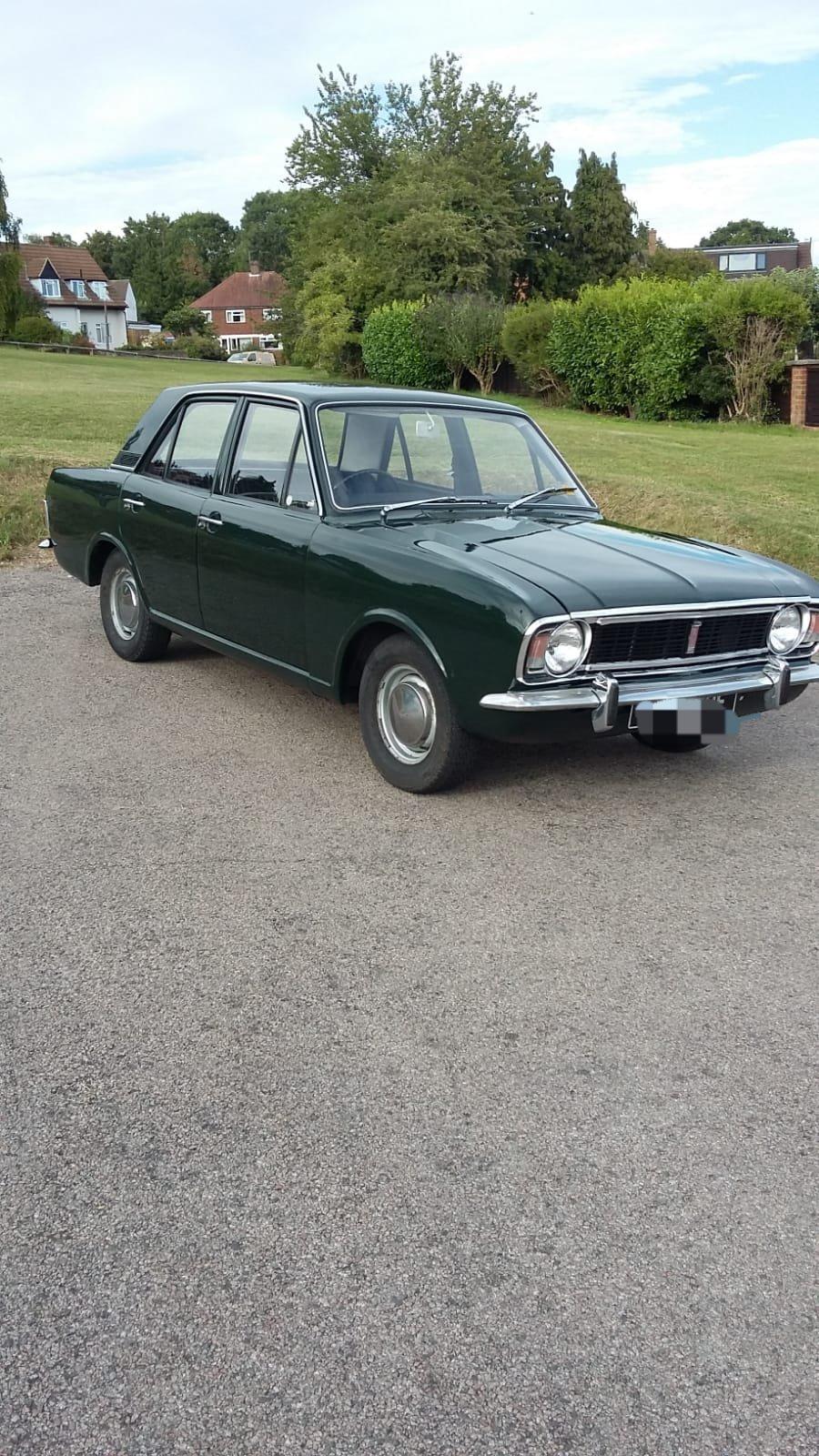 1968 Cortina mk2 1600 Auto For Sale (picture 1 of 6)
