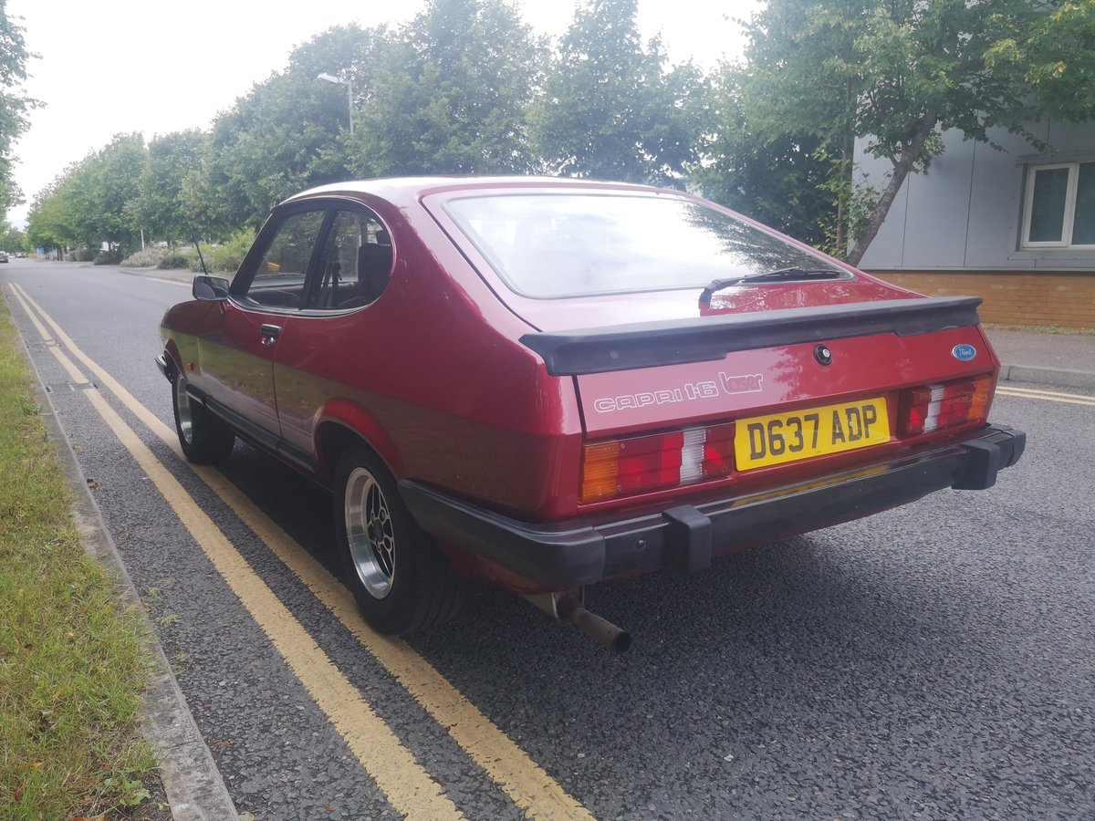 1987 Ford Capri 1.6 Laser Now Sold similar Fords wanted For Sale (picture 2 of 6)
