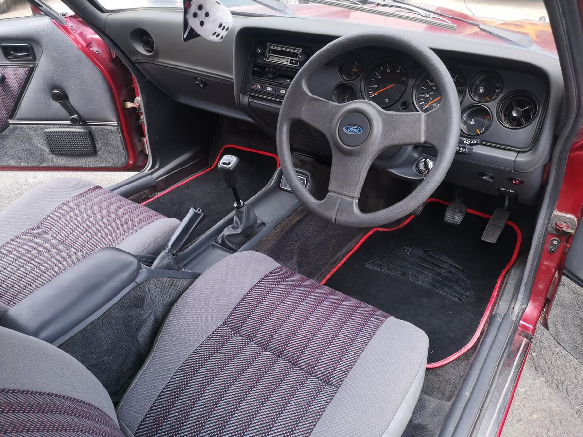 1987 Ford Capri 1.6 Laser Now Sold similar Fords wanted For Sale (picture 4 of 6)