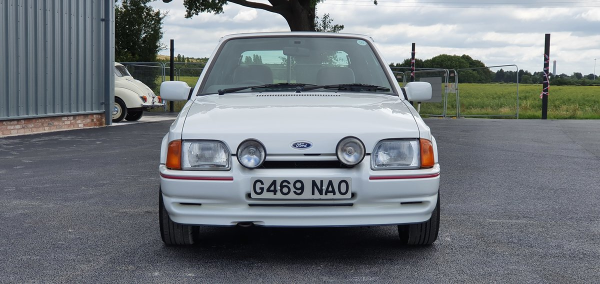 1989 Ford Escort XR3i For Sale (picture 3 of 6)