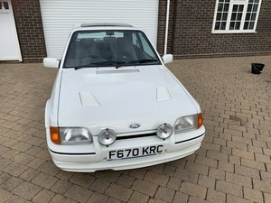 1989 Ford Escort RS Turbo.