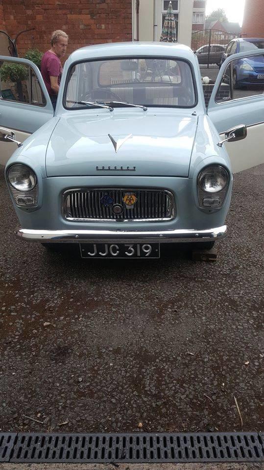 1961 classic ford prefect 107e SOLD (picture 5 of 5)