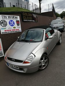 2006 VERY LOW MILEAGE StreetKA Convertible 1.6 Petrol Manual