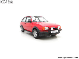 1988 A Fabulous Ford Fiesta XR2 with 26,416 Miles
