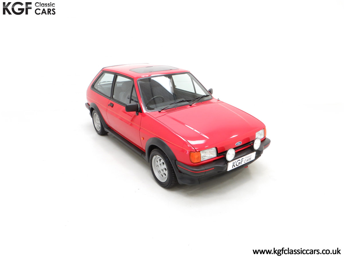 1988 A Fabulous Ford Fiesta XR2 with 26,416 Miles SOLD (picture 2 of 24)