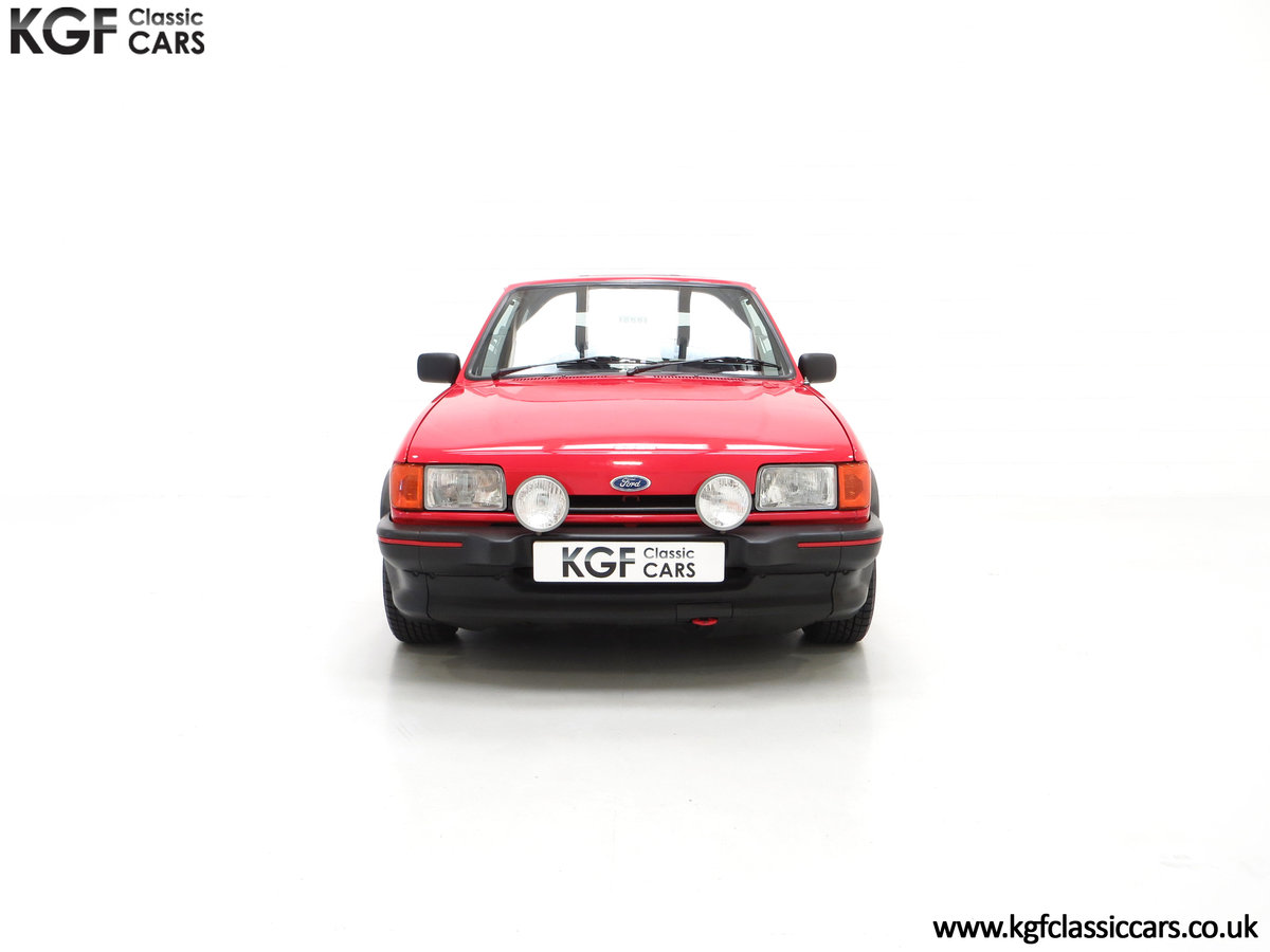 1988 A Fabulous Ford Fiesta XR2 with 26,416 Miles SOLD (picture 3 of 24)