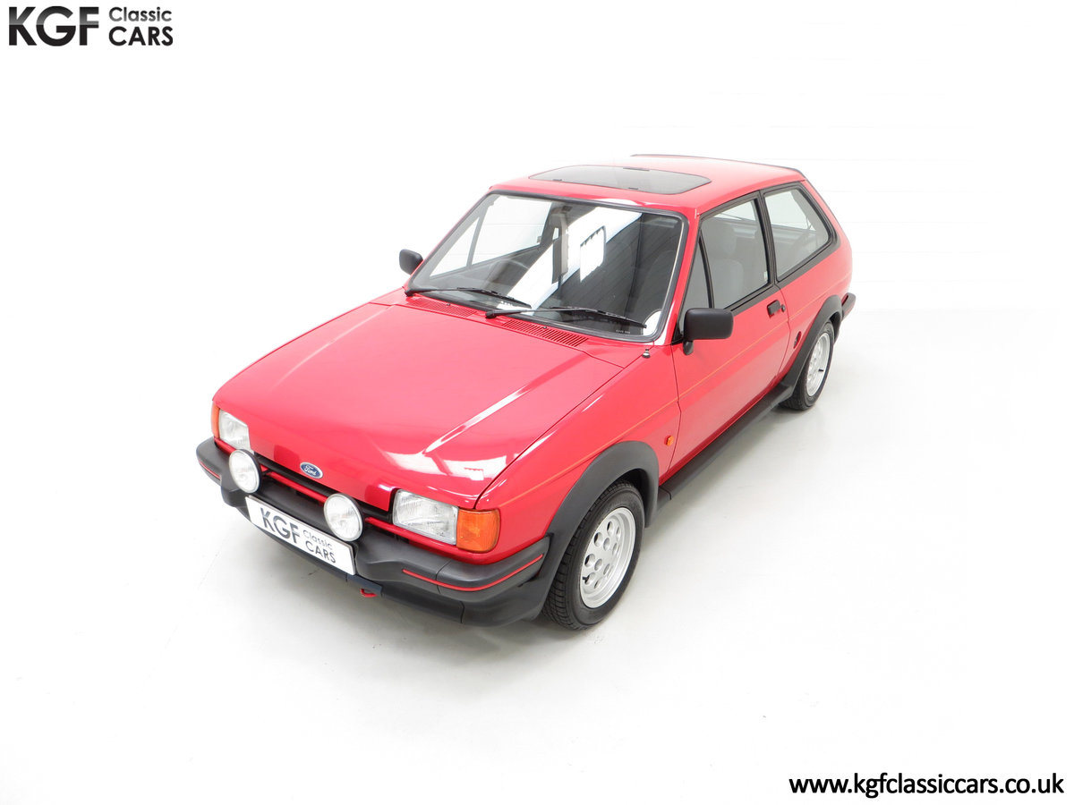 1988 A Fabulous Ford Fiesta XR2 with 26,416 Miles SOLD (picture 5 of 24)