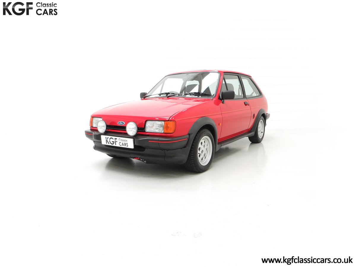 1988 A Fabulous Ford Fiesta XR2 with 26,416 Miles SOLD (picture 6 of 24)