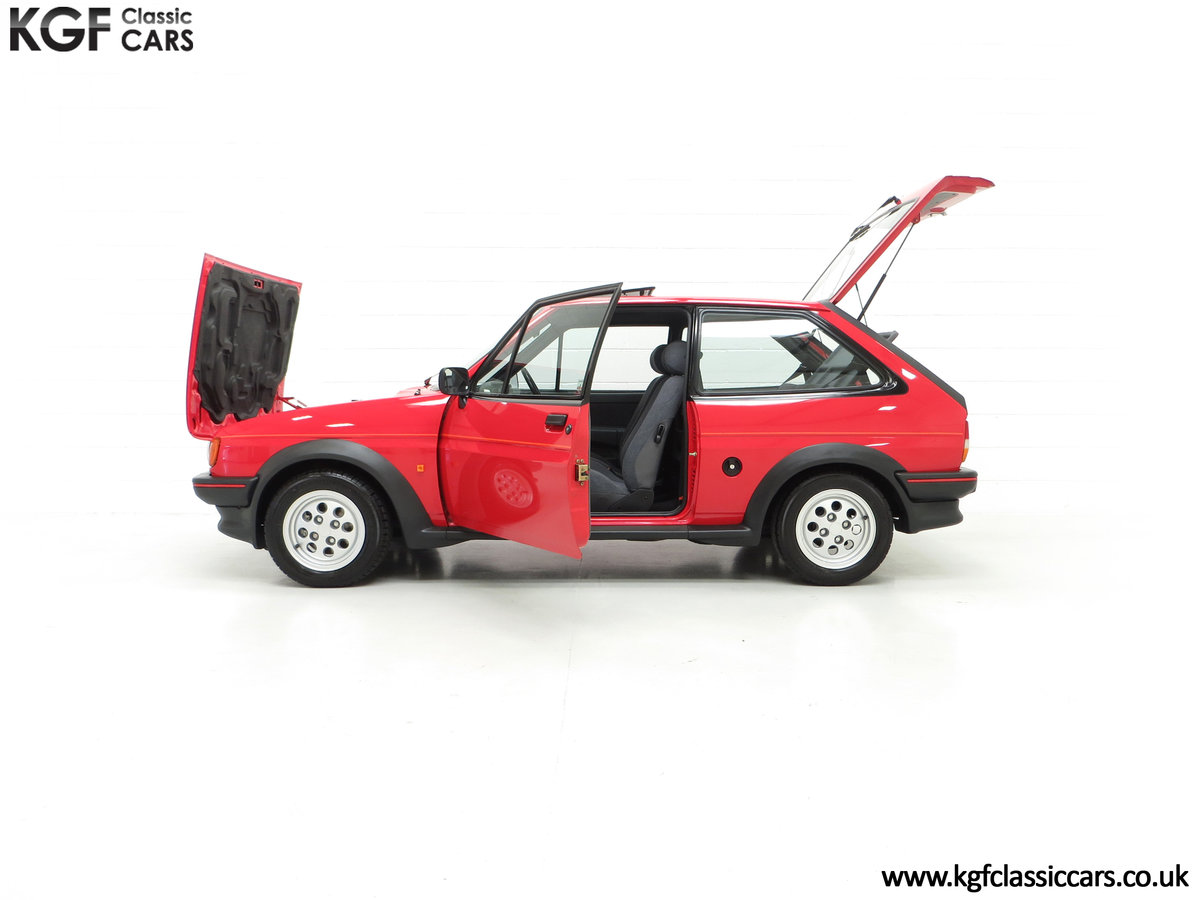 1988 A Fabulous Ford Fiesta XR2 with 26,416 Miles SOLD (picture 7 of 24)