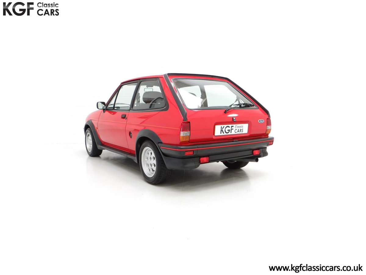 1988 A Fabulous Ford Fiesta XR2 with 26,416 Miles SOLD (picture 8 of 24)