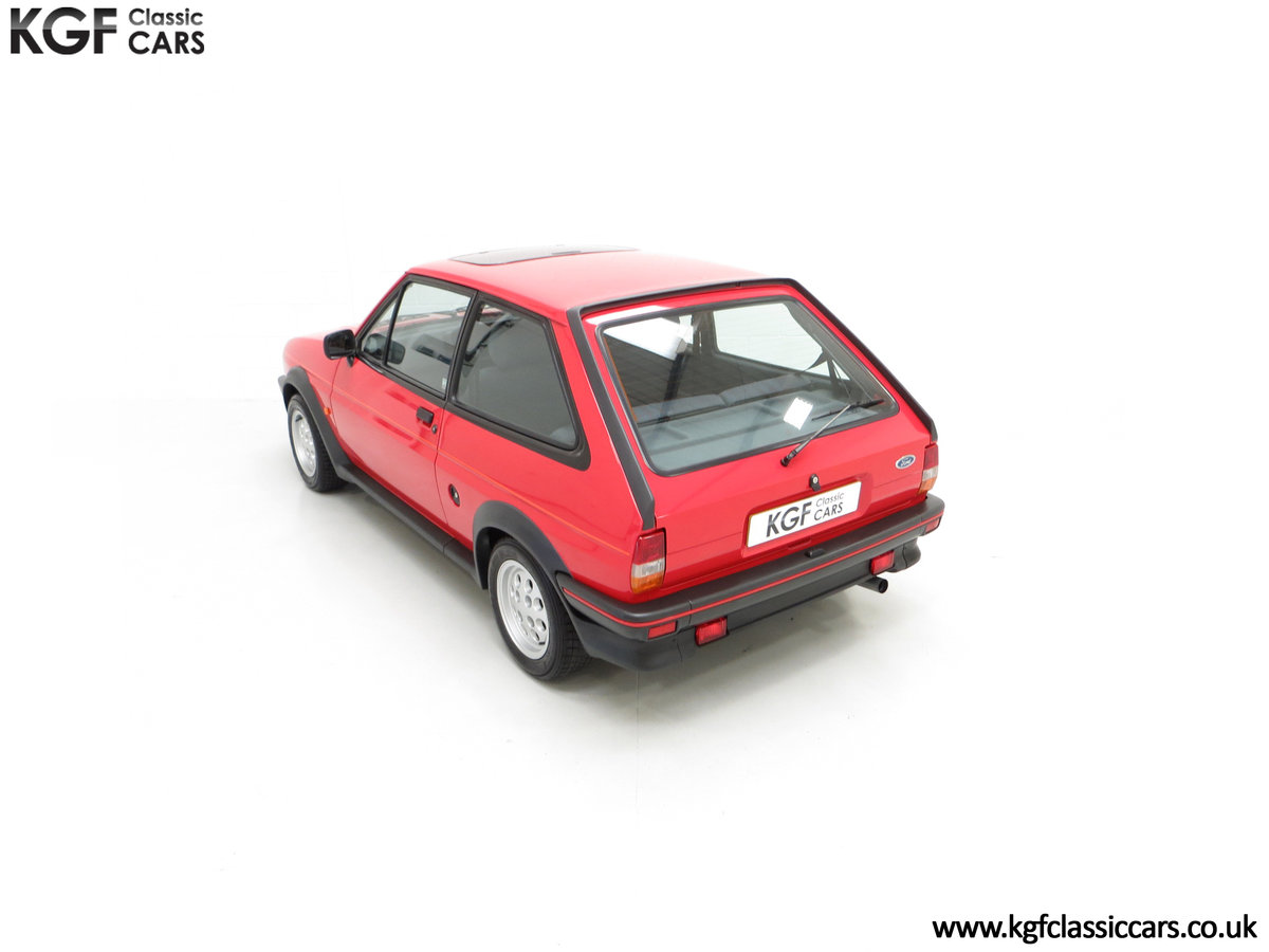 1988 A Fabulous Ford Fiesta XR2 with 26,416 Miles SOLD (picture 9 of 24)