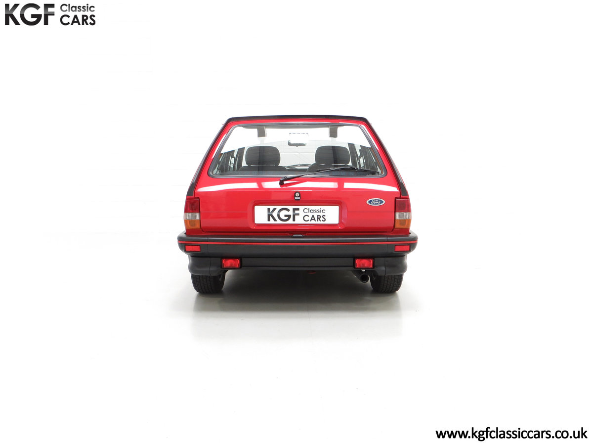 1988 A Fabulous Ford Fiesta XR2 with 26,416 Miles SOLD (picture 10 of 24)