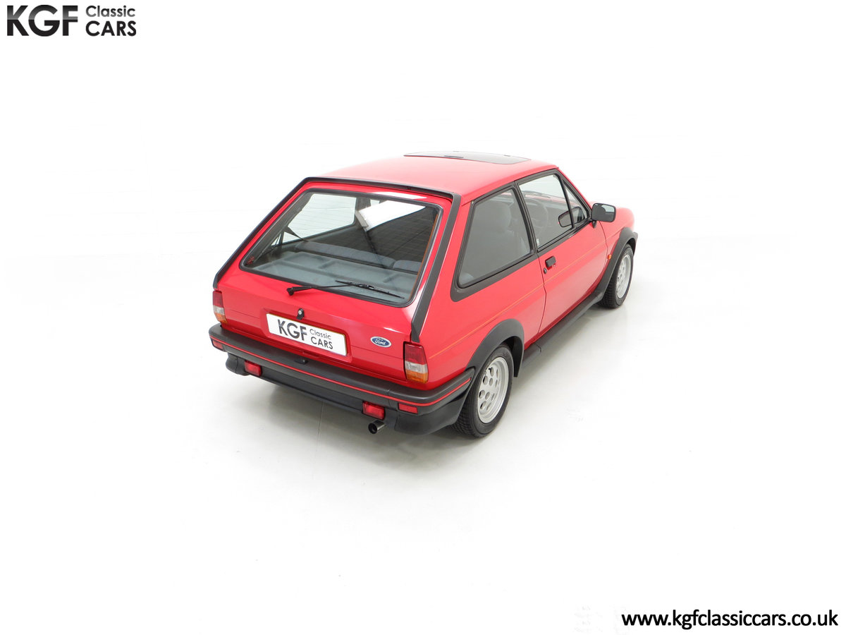 1988 A Fabulous Ford Fiesta XR2 with 26,416 Miles SOLD (picture 12 of 24)