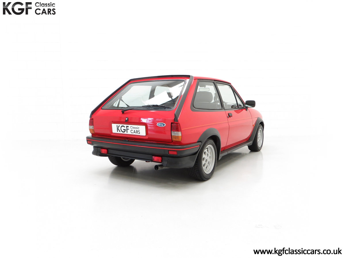 1988 A Fabulous Ford Fiesta XR2 with 26,416 Miles SOLD (picture 13 of 24)