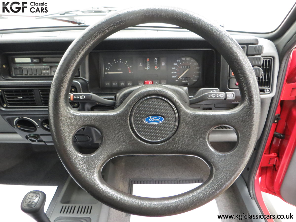 1988 A Fabulous Ford Fiesta XR2 with 26,416 Miles SOLD (picture 24 of 24)