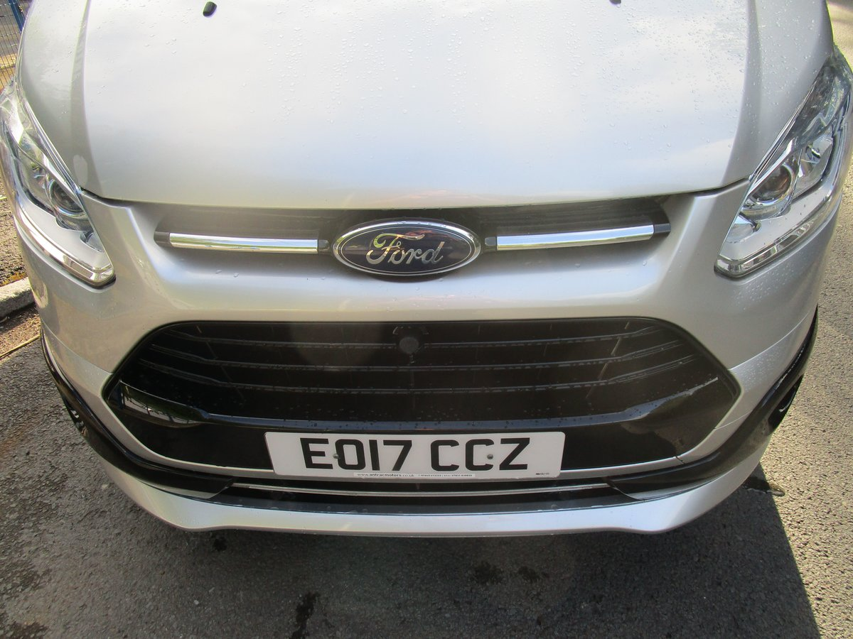 2017 FORD TRANSIT CUSTOM TOURNEO 2.0 TDI 9 SEATER SILVER For Sale (picture 4 of 6)