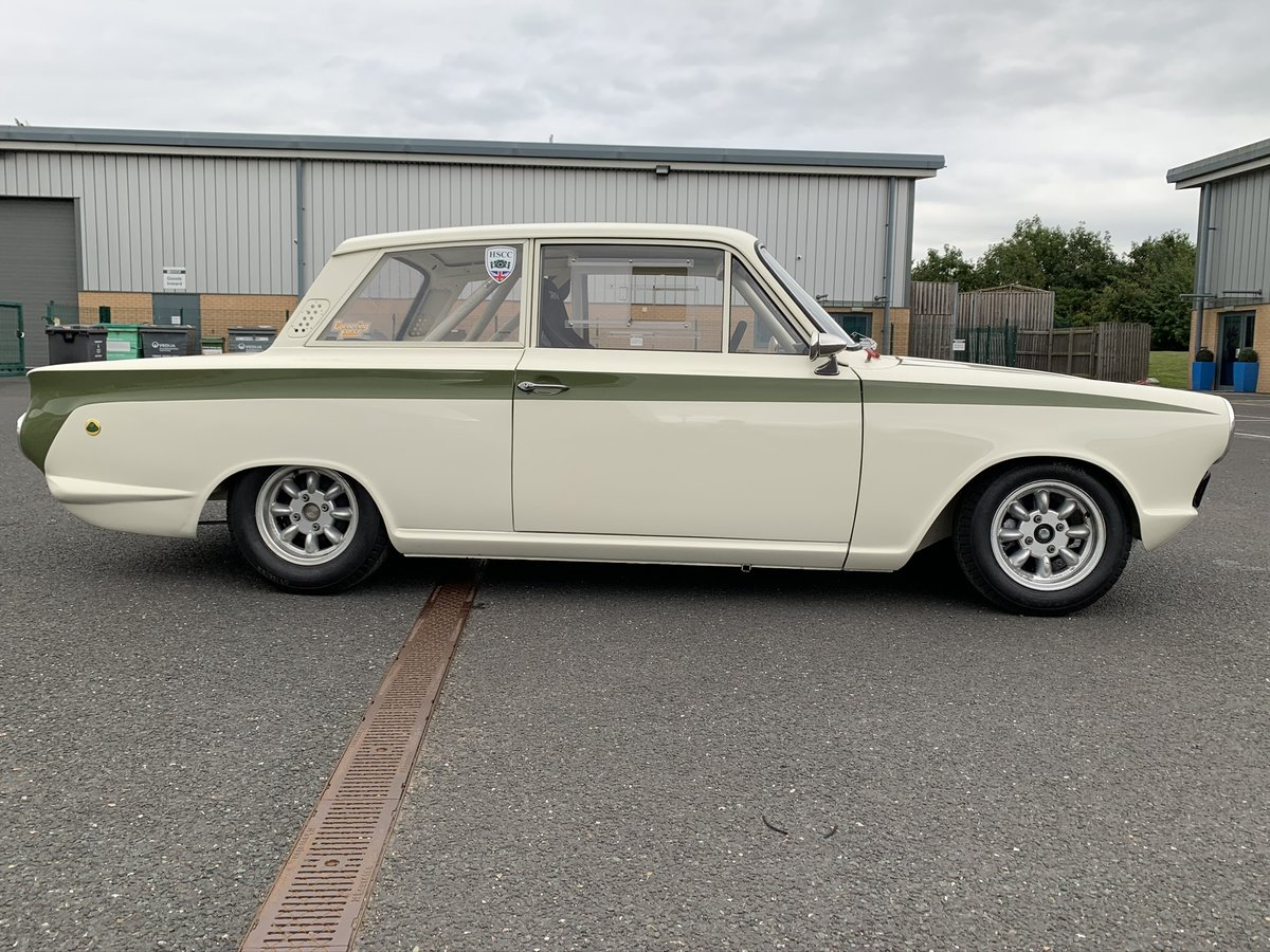 1966 Lotus Cortina FIA Historic Race Car For Sale (picture 1 of 6)